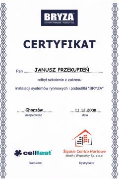 BRYZA - instalacja systemów rynnowych i podsufitki