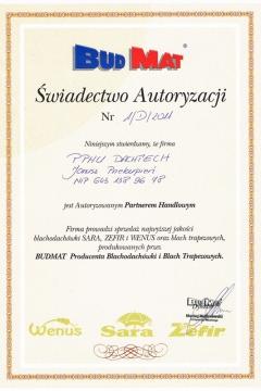 BudMat - Autoryzowany Partner Handlowy