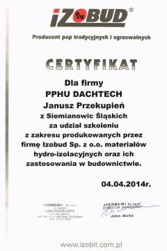 IZOBUD - szkolenie z zakresu materiałów hydro-izolacyjnych