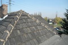 Dekarz Katowice - wymiana dachu styropapa i dachówka marsylka - 09