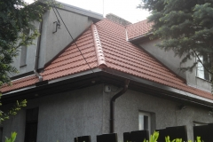 Dekarz Katowice - wymiana dachu styropapa i dachówka marsylka - 25