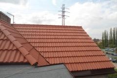 Dekarz Katowice - wymiana dachu styropapa i dachówka marsylka - 29