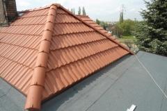 Dekarz Katowice - wymiana dachu styropapa i dachówka marsylka - 35