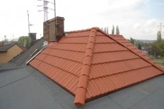 Dekarz Katowice - wymiana dachu styropapa i dachówka marsylka - 41
