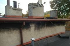 Naprawa dachu Chorzów - pokrycie papa termozgrzewalna - 04