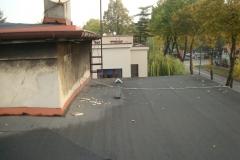 Naprawa dachu Chorzów - pokrycie papa termozgrzewalna - 05