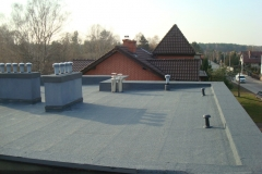 Remont dachu - pokrycie styropapa - Katowice - 32