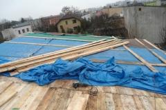 Wymiana dachu Czeladz - pokrycie papa termozgrzewalna - 02