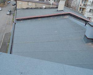 Remont dachu Katowice papa