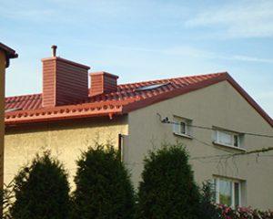 Wymiana dachu Poręba – pokrycie blachodachówka