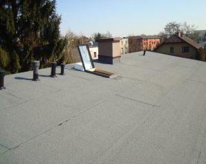 Wymiana dachu Czeladź – pokrycie papa termozgrzewalna