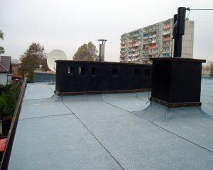 Wymiana dachu Katowice Giszowiec styropapa
